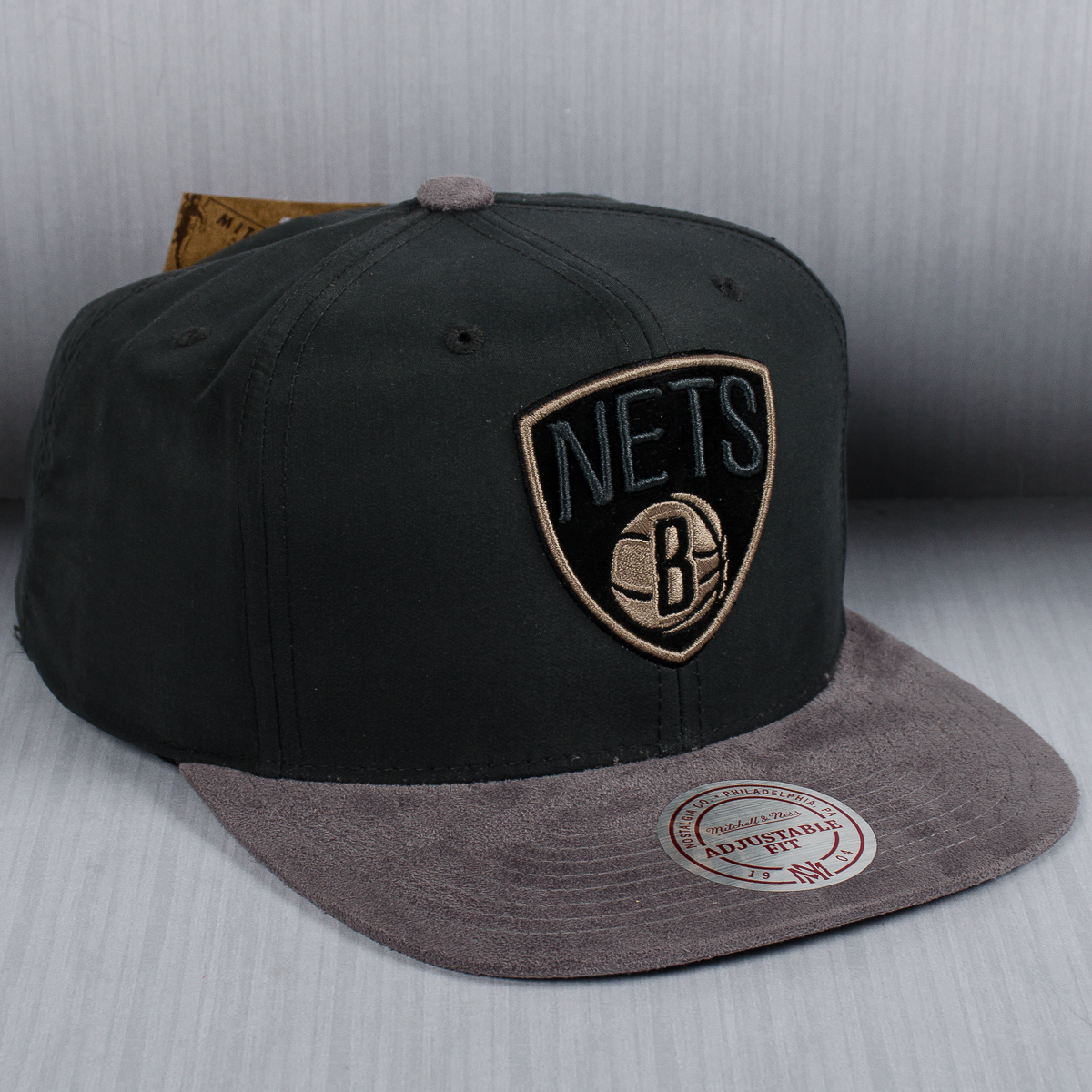 f696a1a50ee Mitchell   Ness NBA Brooklyn Nets Buttery Snapback Cap - NBA Shop Brooklyn  Nets Merchandise - Superfanas.lt