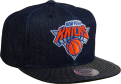 Mitchell & Ness NBA New York Knicks Raw Denim Snapback Kepurė