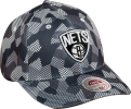 Mitchell & Ness NBA Brooklyn Nets Carbon Camo Flexfit Slouch Kepurė