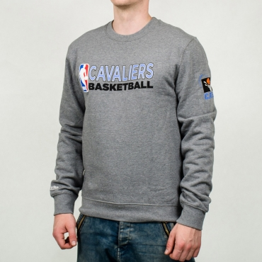 Mitchell & Ness NBA Cleveland Cavaliers Team Issue Crewneck Džemperis
