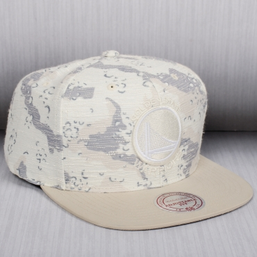 Mitchell & Ness NBA Golden State Warriors Space Camo Snapback kepurė