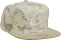 Mitchell & Ness NBA Cleveland Cavaliers Space Camo Snapback Cap