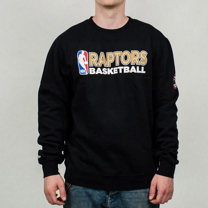 015eac6f0490 Mitchell   Ness NBA Toronto Raptors Team Issue Crewneck Sweatshirt - NBA  Shop Toronto Raptors Merchandise - Superfanas.lt