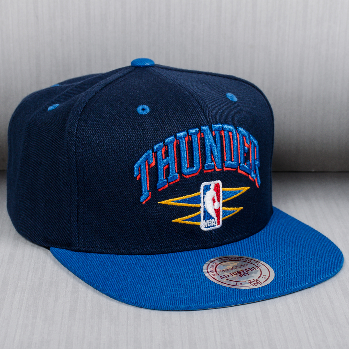 official photos 436b9 71efa Mitchell   Ness NBA Oklahoma City Thunder Double Diamond Snapback Cap - NBA  Shop OKC Thunder Merchandise - Superfanas.lt