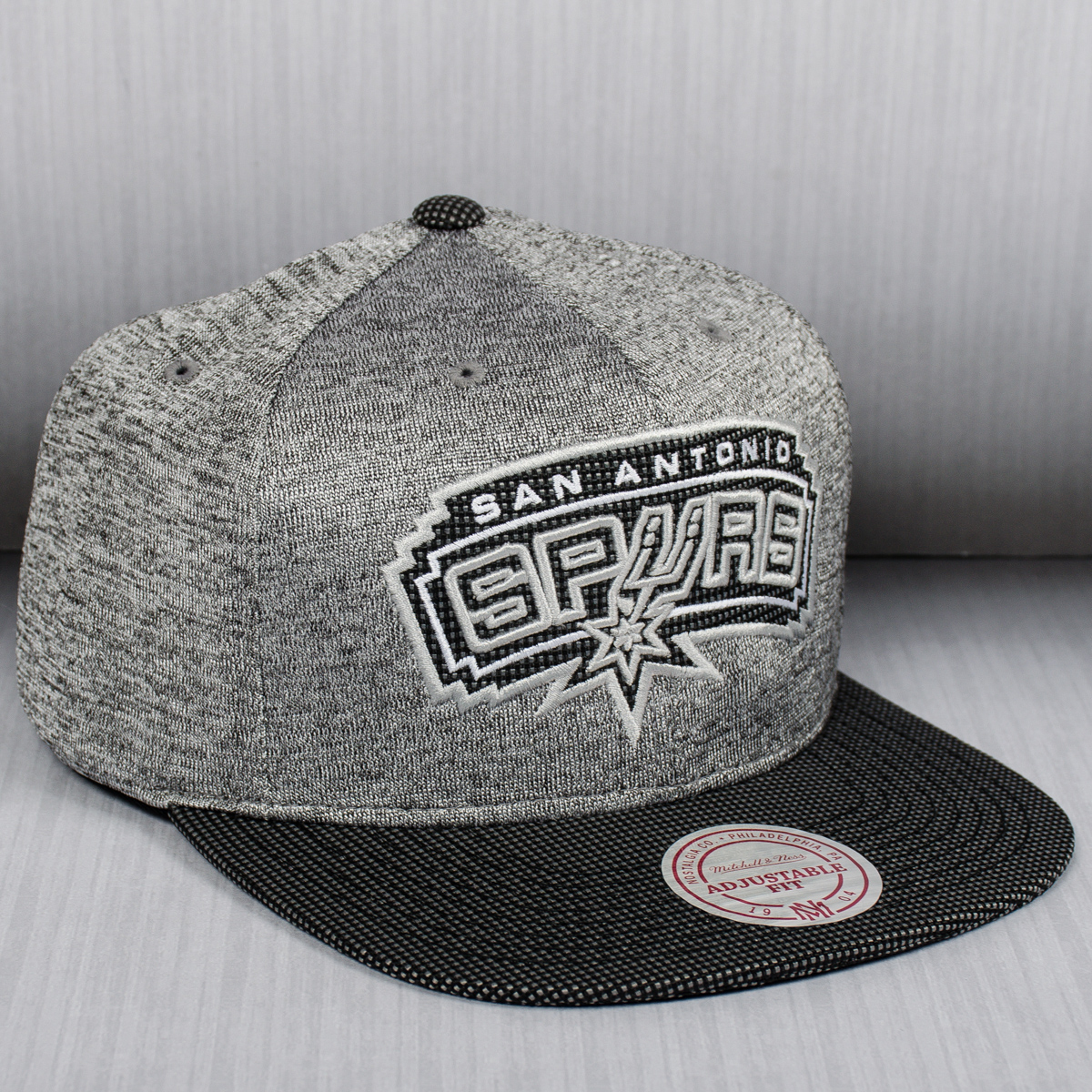 Mitchell Amp Ness Nba San Antonio Spurs Space Knit Crown
