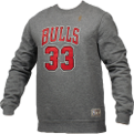 Mitchell & Ness NBA Chicago Bulls Name And Number Crewneck Džemperis