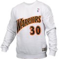 Mitchell & Ness NBA Golden State Warriors Name And Number Crewneck Džemperis