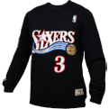 Mitchell & Ness NBA Philadelphia 76ers Name And Number Crewneck Džemperis