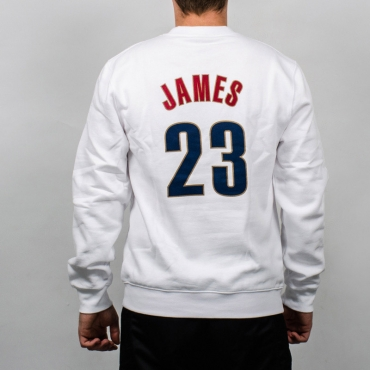 Mitchell & Ness NBA Cleveland Cavaliers Name And Number Crewneck džemperis