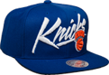 Mitchell & Ness NBA New York Knicks Vice Script Solid Snapback Kepurė