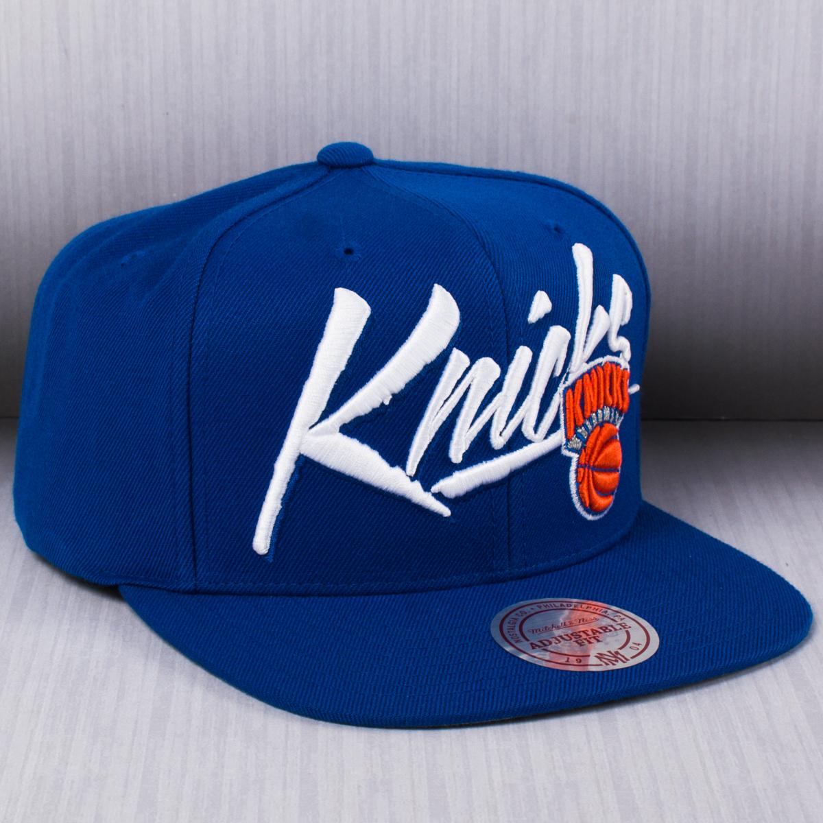 online retailer af212 1bf5e Mitchell   Ness NBA New York Knicks Vice Script Solid Snapback Cap - NBA  Shop New York Knicks Merchandise - Superfanas.lt