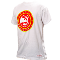 Mitchell & Ness NBA Atlanta Hawks Circle Patch Traditional marškinėliai