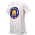 Mitchell & Ness NBA Golden State Warriors Circle Patch Traditional marškinėliai