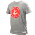 Mitchell & Ness NBA Houston Rockets Circle Patch Traditional Tee