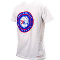 Mitchell & Ness NBA Philadelphia 76ers Circle Patch Traditional Tee