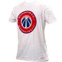 Mitchell & Ness NBA Washington Wizards Circle Patch Traditional Tee