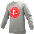 Mitchell & Ness NBA Houston Rockets Circle Patch Crew Sweatshirt