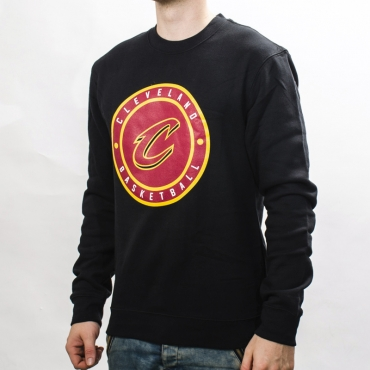 Mitchell & Ness NBA Cleveland Cavaliers Circle Patch Crew Sweatshirt