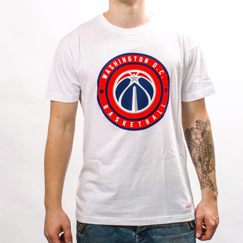 Mitchell   Ness NBA Washington Wizards Circle Patch Traditional Tee - NBA  Shop Washington Wizards Merchandise - Superfanas.lt 6c1d88c07