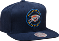 Mitchel & Ness NBA Oklahoma City Thunder Twill Circle Patch Snapback kepurė