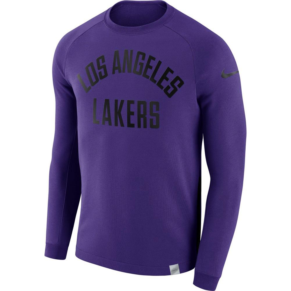 Los Angeles Lakers: Nike NBA Los Angeles Lakers Modern Long Sleeve Crewneck