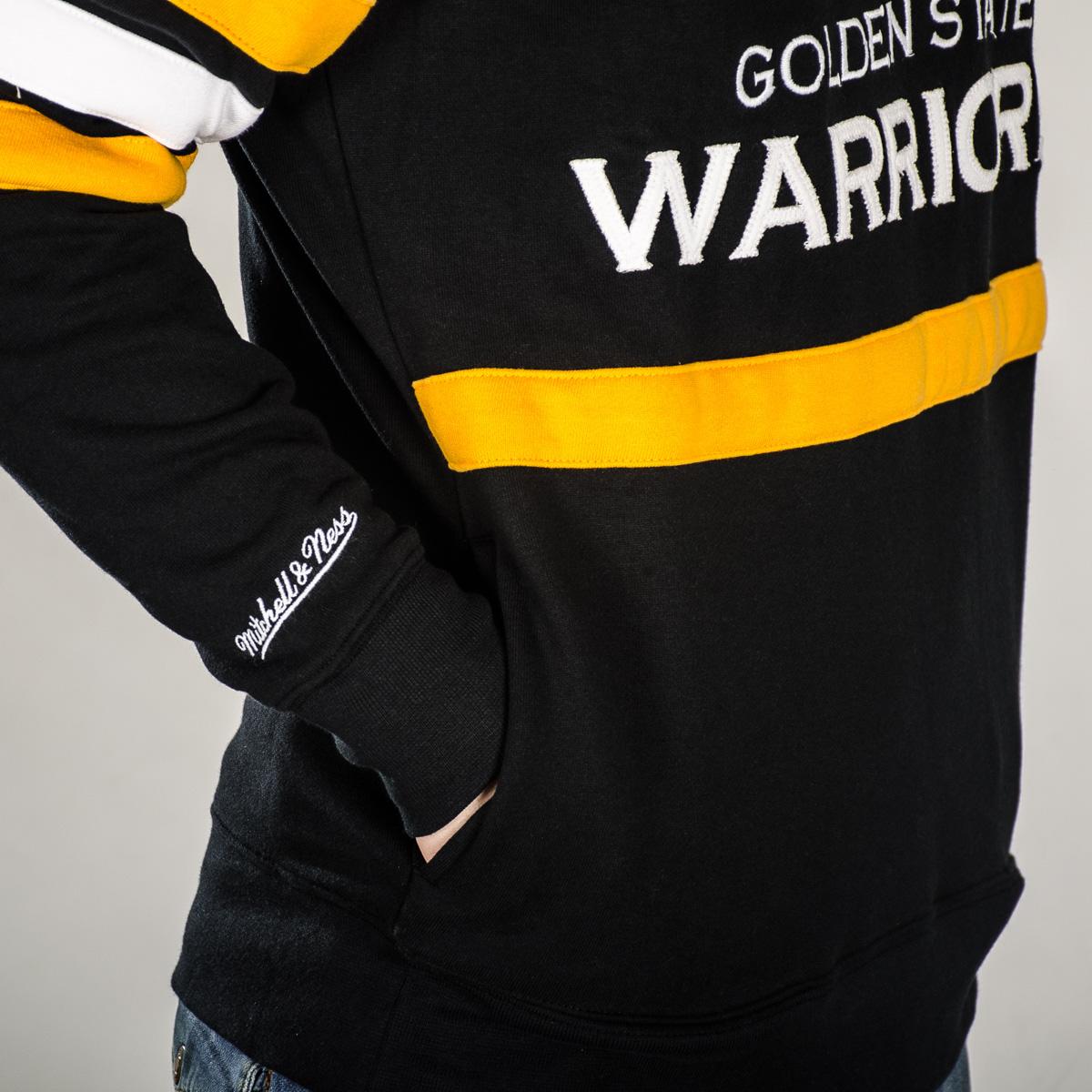12b84d1317d Mitchell   Ness NBA Golden State Warriors Head Coach Crew Sweatshirt ...