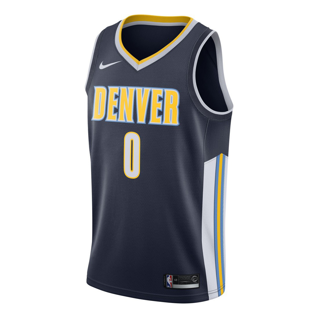 9ad285c90 Nike NBA Denver Nuggets Maillot Emmanuel Mudiay Icon Edition Swingman Jersey  - NBA Shop Others NBA Clubs Merchandise - Superfanas.lt