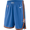 Nike NBA Oklahoma City Thunder Icon Edition Swingman Shorts (Size S)