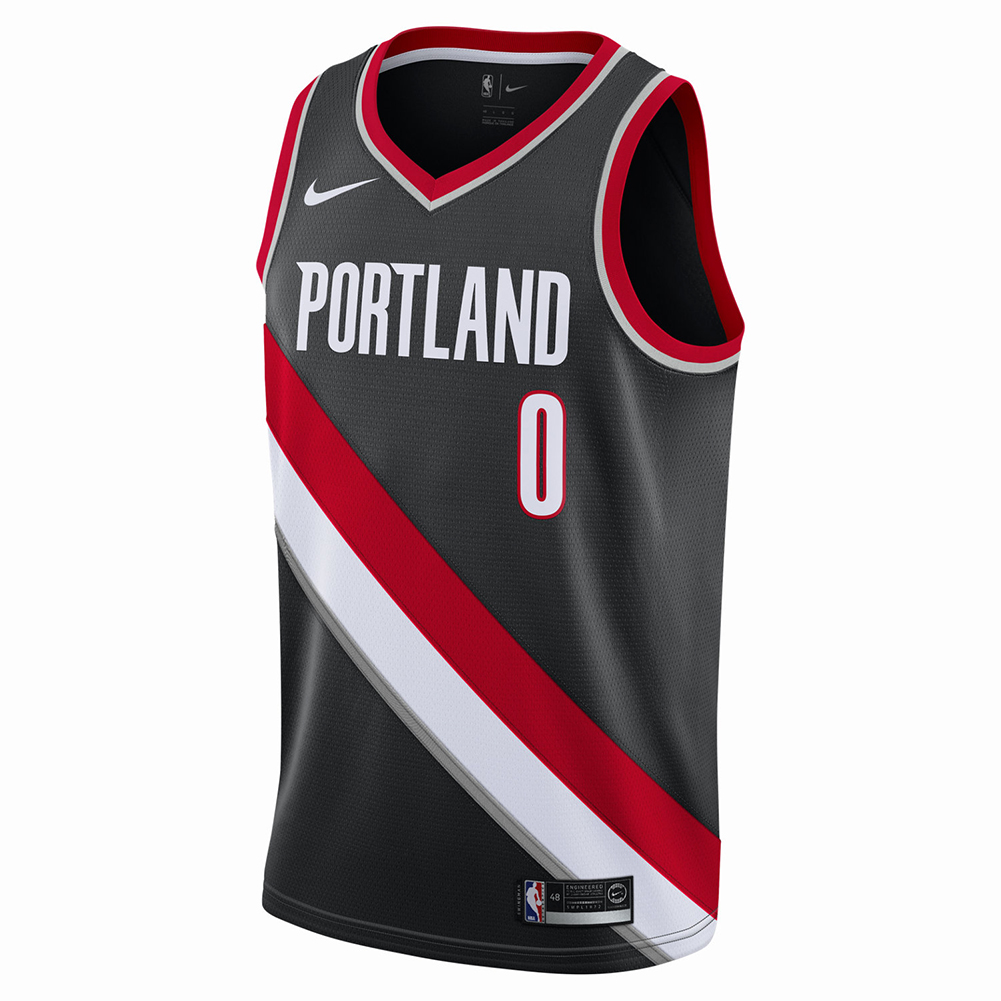 Portland Blkazer: Nike NBA Portland Trail Blazers Damian Lillard Icon