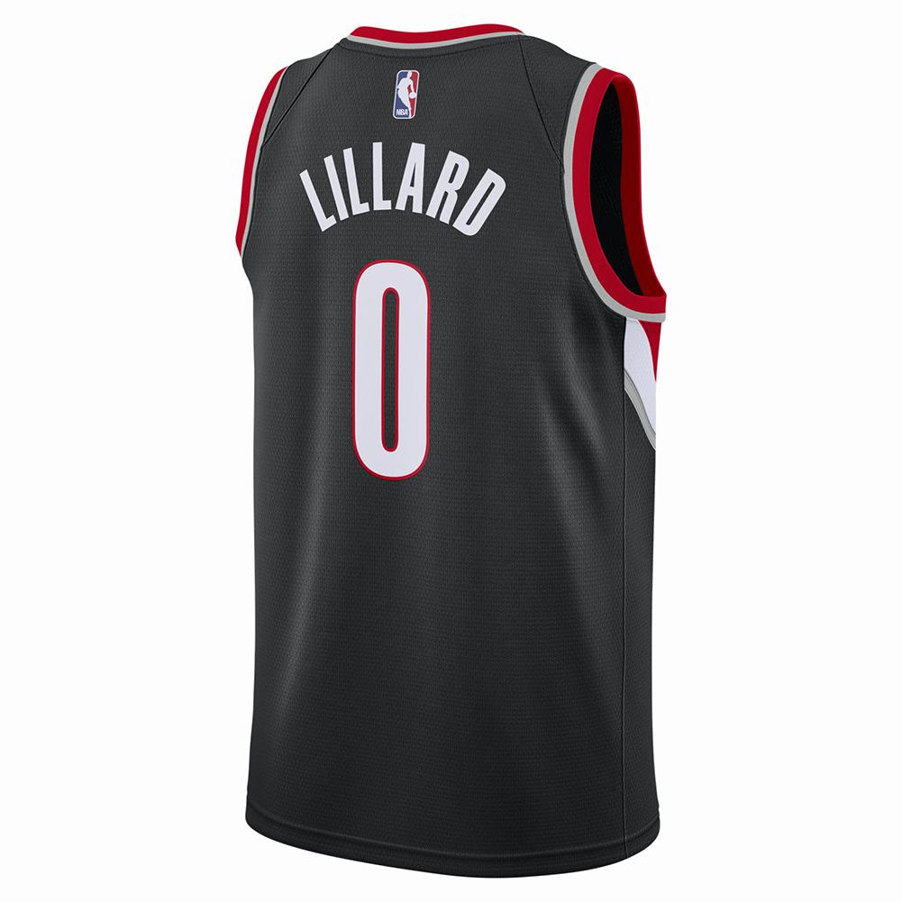 Portland Trail Blazers Jersey Nike: Nike NBA Portland Trail Blazers Damian Lillard Icon