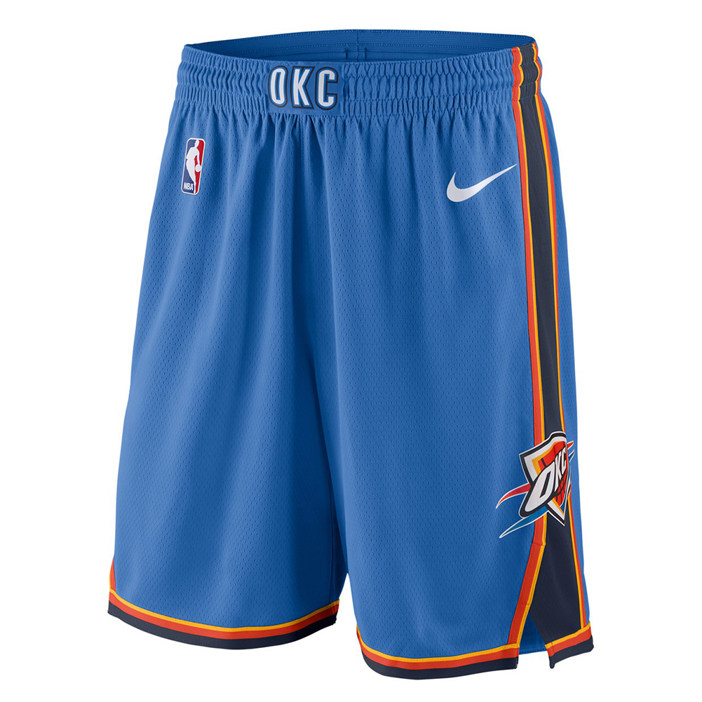 super popular f11fc 836c7 Nike NBA Oklahoma City Thunder Icon Edition Swingman Shorts ...