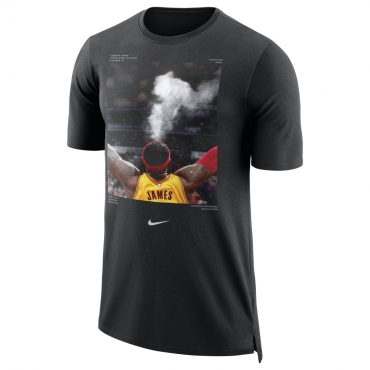 Nike Lebron James Dry NBA Player Pack Basketball Tee (Size L)