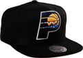 Mitchell & Ness NBA Indiana Pacers Easy Three Digital XL Snapback kepurė