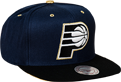 Mitchell & Ness NBA Indiana Pacers Gold Tip Snapback kepurė