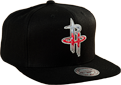 Mitchell & Ness NBA Houston Rockets Easy Three Digital XL Snapback kepurė