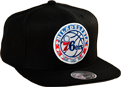Mitchell & Ness NBA Philadelphia 76ers Easy Three Digital XL Snapback Cap