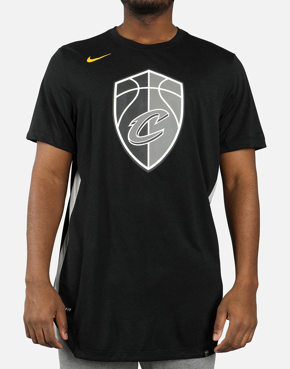 581c05b0958c Nike NBA Cleveland Cavaliers City Edition Dri-Fit Tee - NBA Shop Cleveland  Cavaliers Merchandise - Superfanas.lt