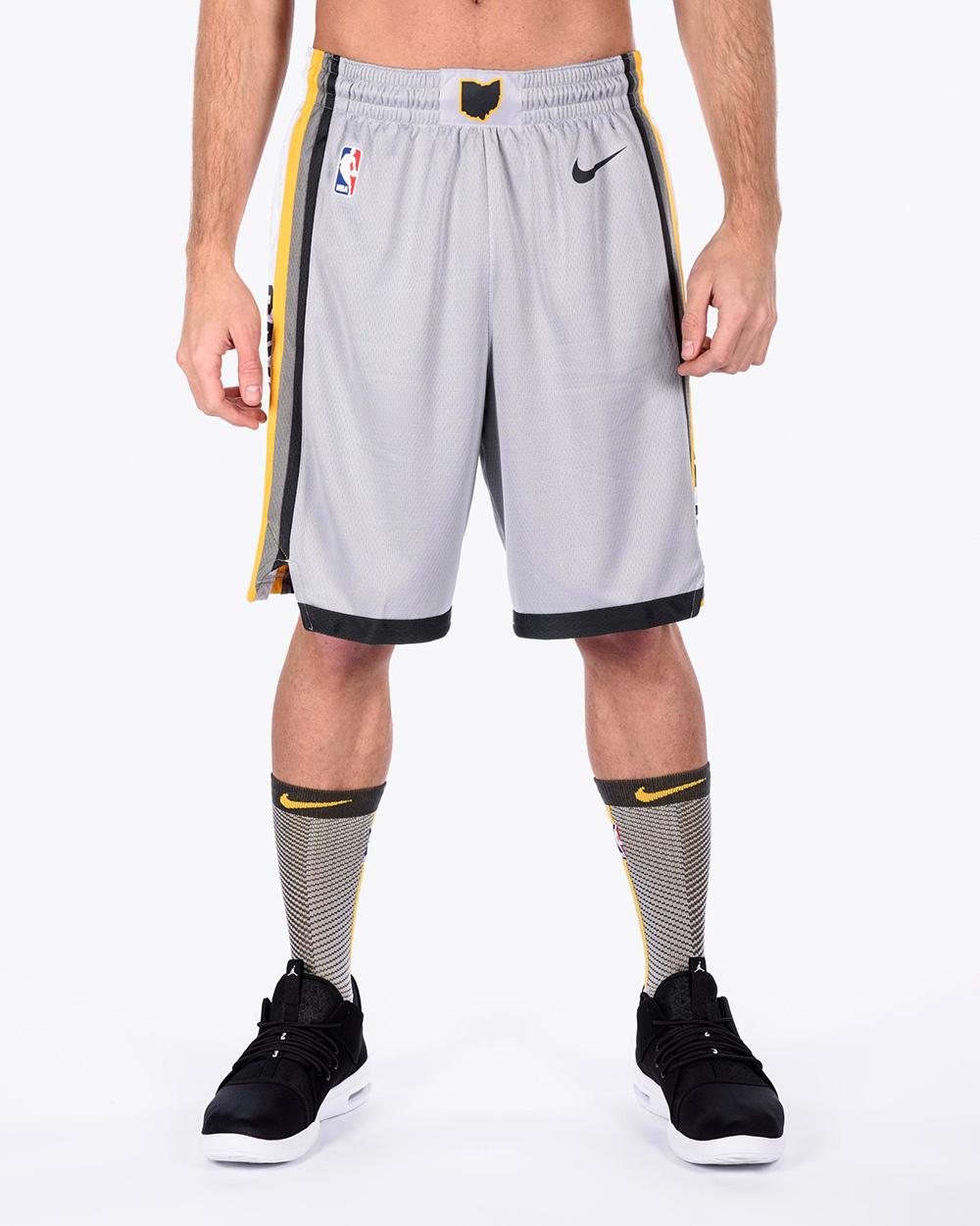 7cfc67569 Nike NBA Cleveland Cavaliers City Edition Swingman Shorts - NBA Shop  Cleveland Cavaliers Merchandise - Superfanas.lt