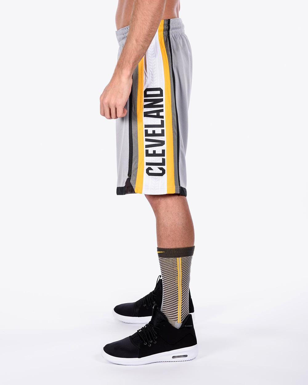 c0bf893fc Nike NBA Cleveland Cavaliers City Edition Swingman Shorts - NBA Shop ...