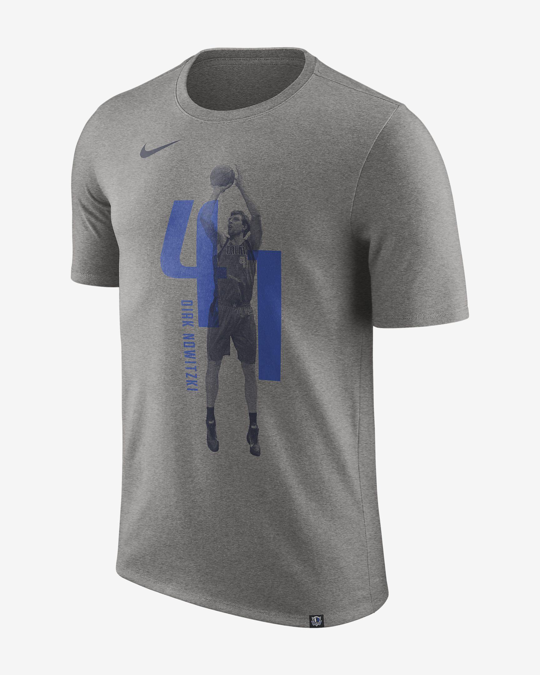 premium selection 7a663 0d459 Nike Dallas Mavericks Dirk Nowitzki Dry Tee - NBA Shop ...
