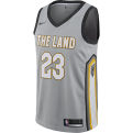 Nike NBA Cleveland Cavaliers LeBron James City Edition Swingman Jersey