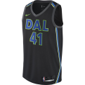 Nike NBA Dallas Mavericks Dirk Nowitzki City Edition Swingman marškinėliai