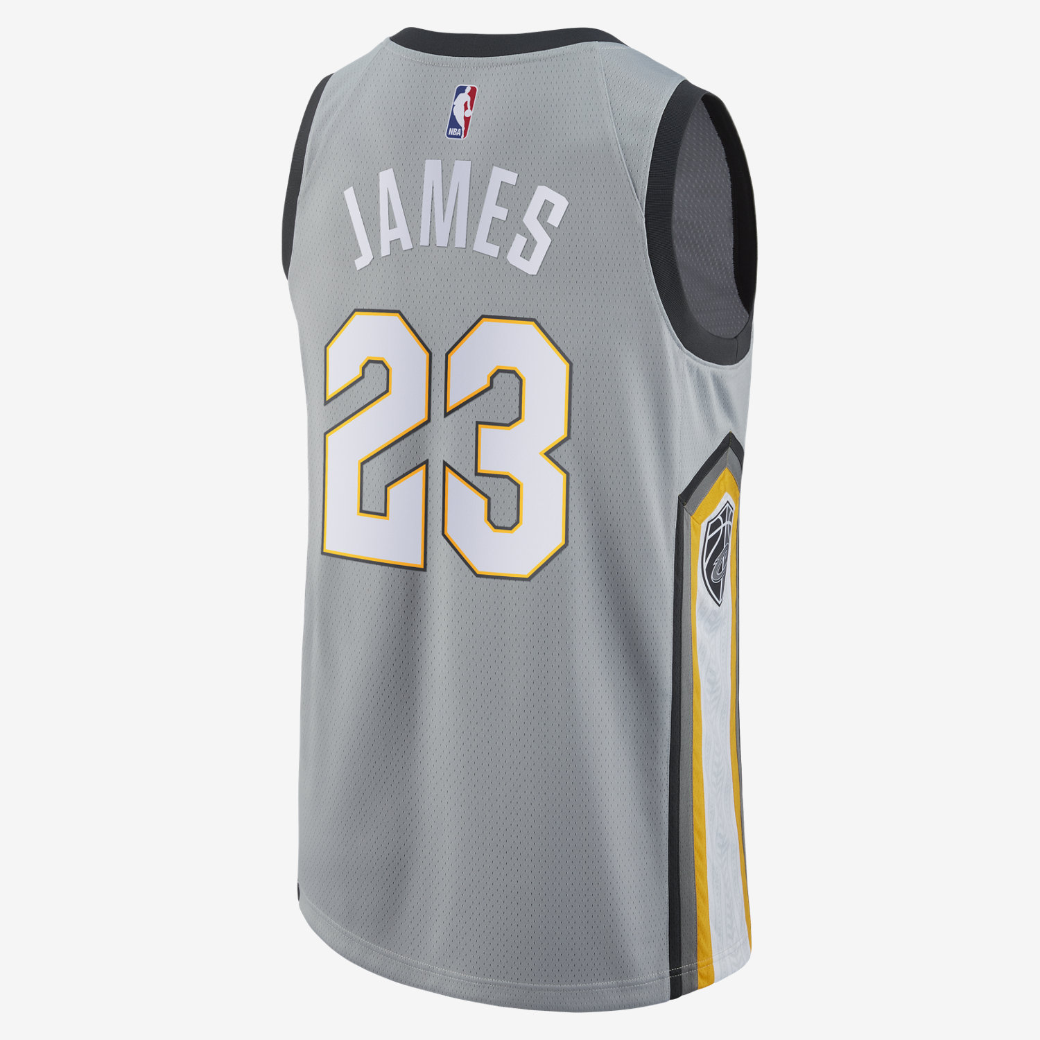 new styles 77a0c ae0a6 Nike NBA Cleveland Cavaliers LeBron James City Edition ...