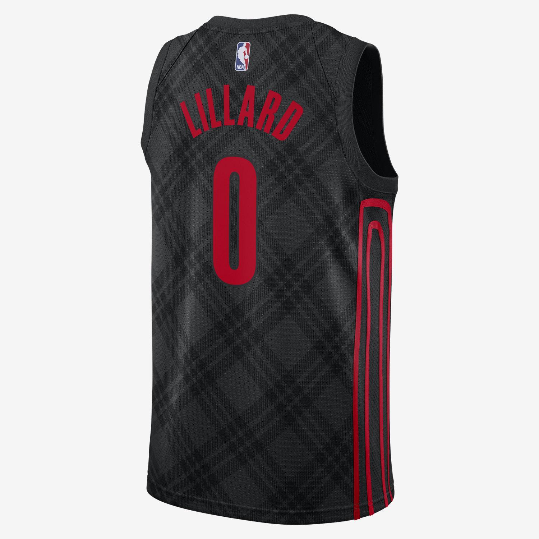 Portland Blazer City Jersey 2019: Nike NBA Portland Trail Blazers Damian Lillard City