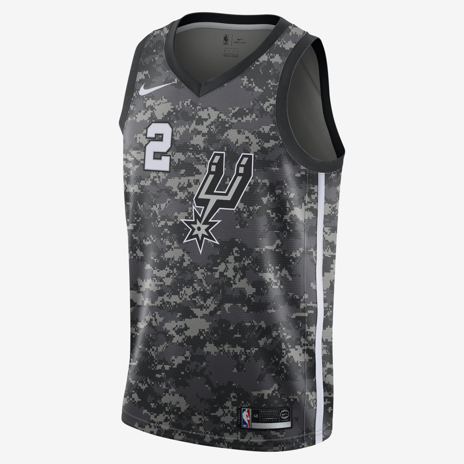 6b05f3e2675 Nike NBA San Antonio Spurs Kawhi Leonard City Edition Swingman Jersey - NBA  Shop San Antonio Spurs Merchandise - Superfanas.lt