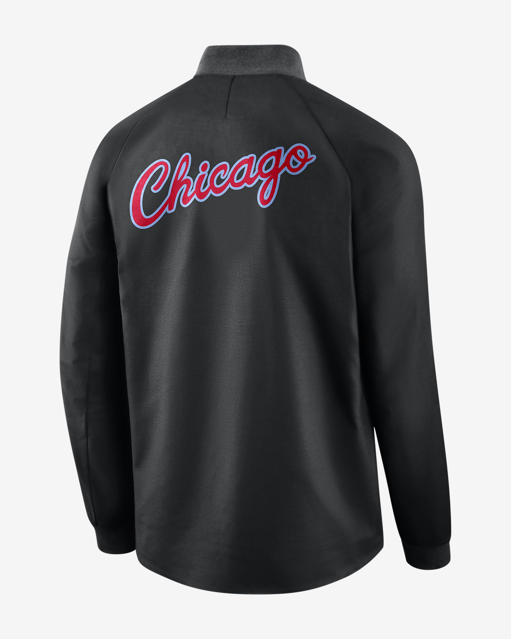 reputable site e1cb7 c076e Nike NBA Chicago Bulls City Edition Modern Varsity Jacket ...