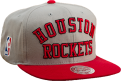 Mitchell & Ness NBA Houston Rockets Wordmark Jersey Hook Snapback kepurė