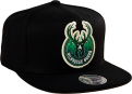 Mitchell & Ness NBA Milwaukee Bucks Easy Three Digital XL Snapback kepurė
