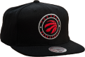 Mitchell & Ness NBA Toronto Raptors Twill Circle Patch Snapback kepurė