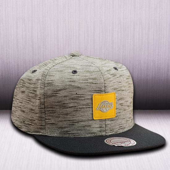 d4cc0d77094 Mitchell   Ness NBA Los Angeles Lakers Brushed Melange Snapback Cap - NBA  Shop Los Angeles Lakers Merchandise - Superfanas.lt